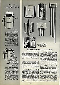 1954 PAPER AD Rittenhouse Nutone Door Chime Bell Majestic Sy