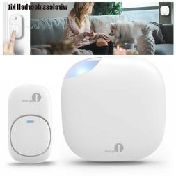 1byone Wireless Doorbell Door Bell Chime Transmitter Plug in