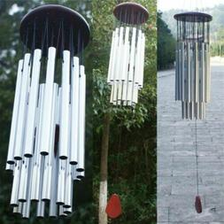 """33"""" Large 27 Tubes Windchime Chapel Bells Wind Chimes Outdoo"""