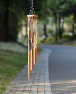 35'' Memorial Wind Chimes Amazing Grace Wind Bell for Garden