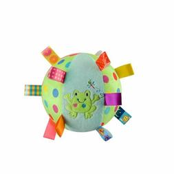 Baby Fabric Ball with Chiming Bell, Super Soft Sensory Plush