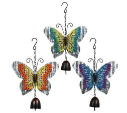 Brand New Metal Butterfly Bell Wind Chimes 3 Choices US Sell
