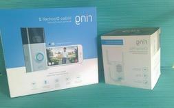 BRAND NEW! Ring Video Doorbell 2 WireFree Video Doorbell + R