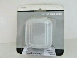 Door Bell Buzzer Metal Silver Doorbell Wired Hardware One no