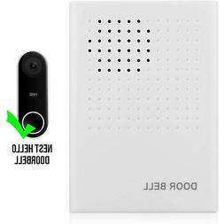Nest Hello Video Doorbell Wired Chime 90 db Adjustable Volum