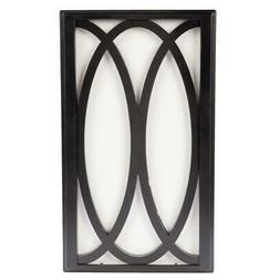 doorbell chime westminster bell black frame white