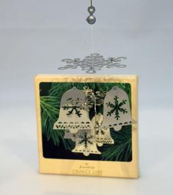 Hallmark Keepsake Ornament 1982 Bell Chimes - Chrome-Plated