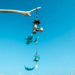Handmade Ocean Sea Bell Wind Chimes Hanging Mobile Natural M