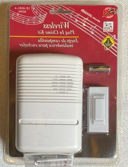 Heath/Zenith SL-6166 Wireless Plug-in Door Chime Kit 2 Note
