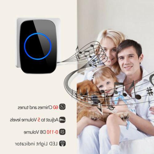 1000FT Wireless Doorbell 2 Volume 38 Chime