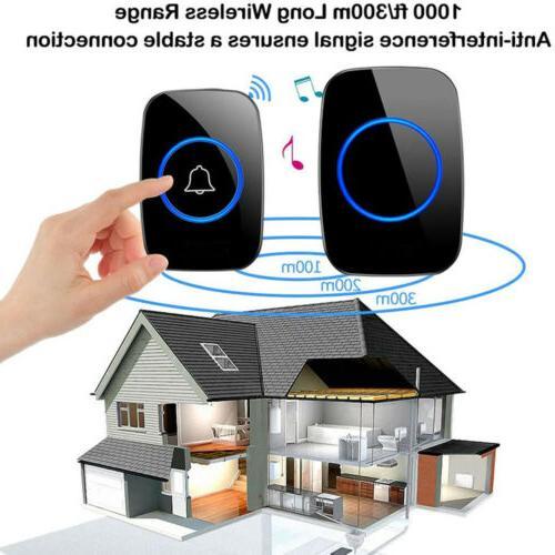 1000FT Wireless Waterproof 2 Receiver Adjustable Volume 38