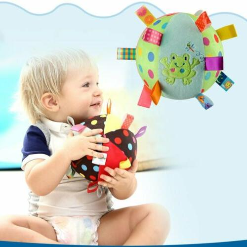 Baby Soft Toy with - Toddler Rattle Ball Chiming Bell