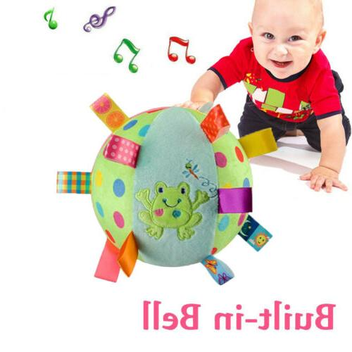 Baby Soft with Toddler Rattle with Chiming Bell