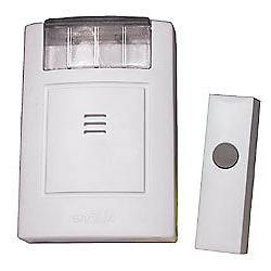 NuTone Doorbell Strobe/Chime with Button