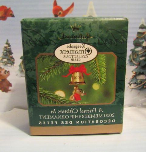 hallmark 2000 a friend chimes in mouse