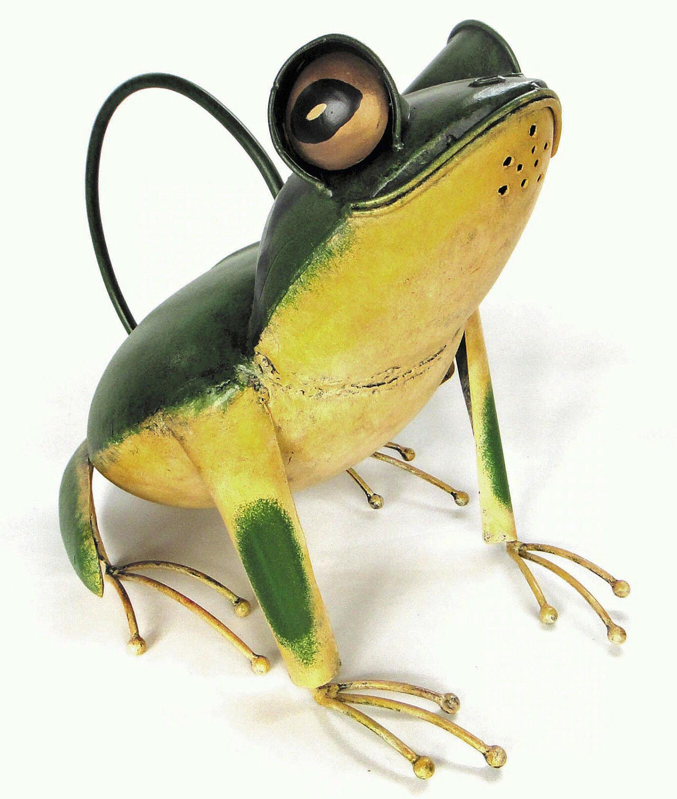 watering cans fanciful frog metal watering can