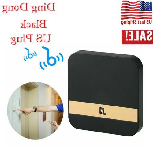 1pc Wireless WiFi Doorbell Chime Ding-Dong Visual Door Bell