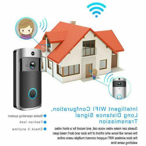 WiFi Smart Camera Two-way Video PIR Security US