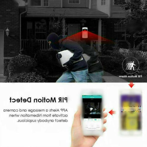 WiFi Smart Camera Two-way Wireless Video Talk Security