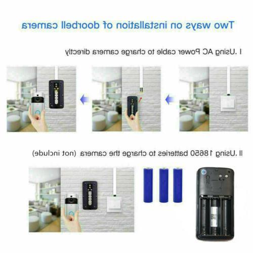 WiFi Smart Door Camera Wireless Video PIR Security US