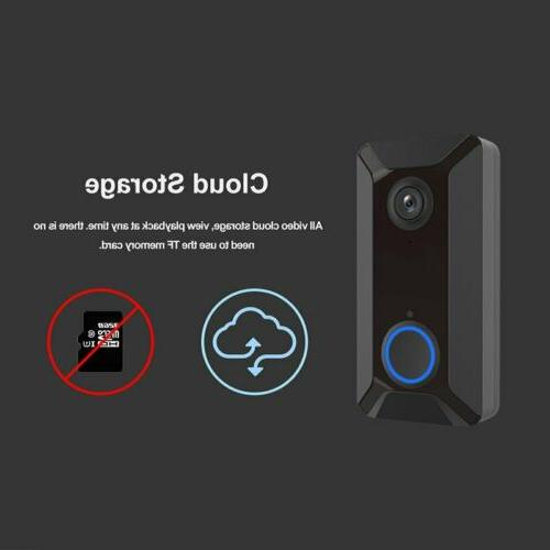 Wireless Smart Loudly Chime Video Camera Night Vision