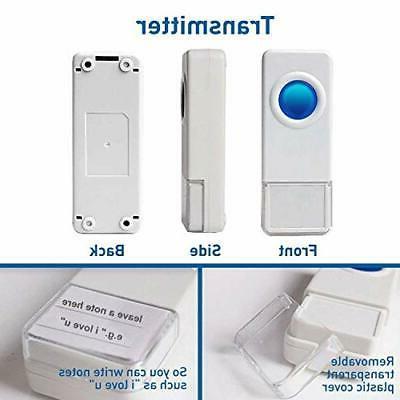 Wireless by Waterproof Door Chimes 1000-Foot Range