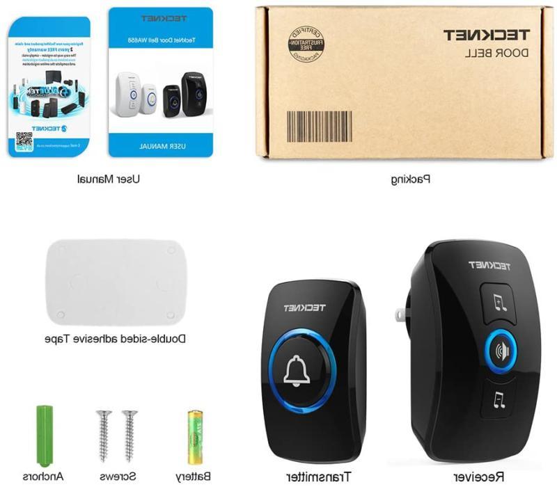 Wireless Doorbell, Wireless Kit