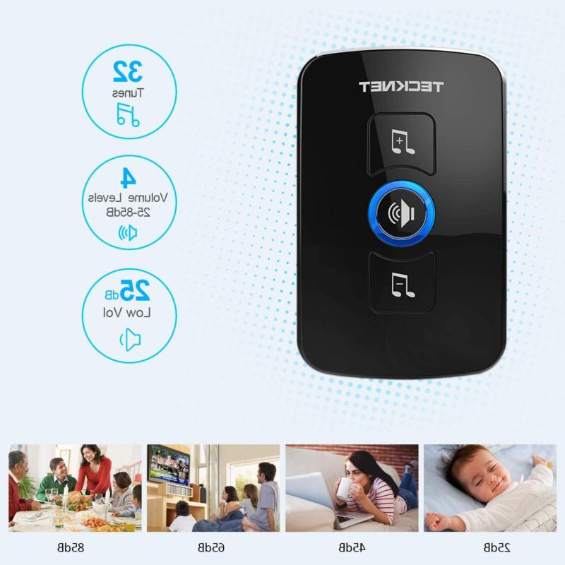Wireless TeckNet Wireless Chime Kit with