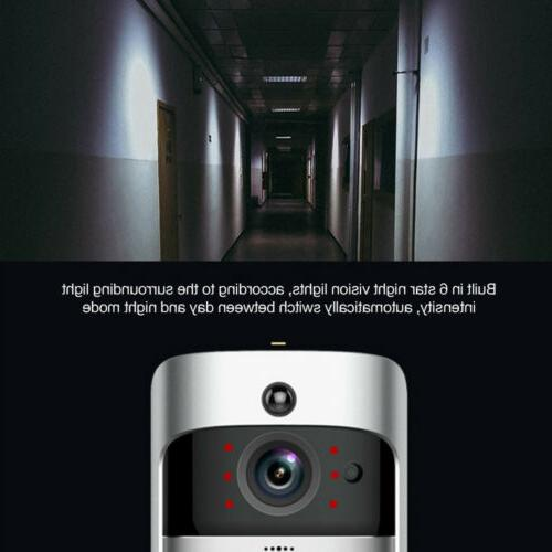 Wireless WiFi Video Doorbells Two-Way Ring Camera Bell