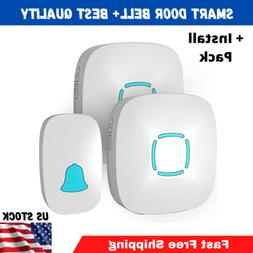 1000FT Water Resistant Wireless Doorbell Chime