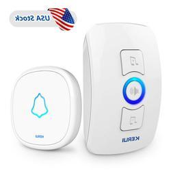 KERUI M525 Waterproof Wireless Doorbell Home Security Smart