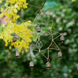 Metal Sun Wind Chimes For Outdoor Bells Large Garden Hanging