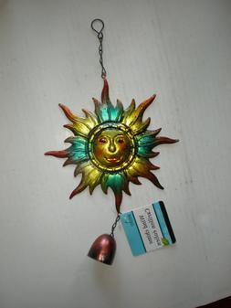 New Garden Collection Sun Wind Chime Bell at Bottom