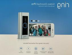 New Ring Video Doorbell Pro, with HD Video, Motion Activated