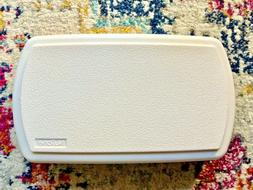 Nutone Broan Replacement Door Chime Cover White Plastic