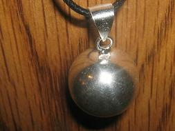 silver 20mm harmony ball round sphere chime