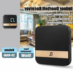 Smart Wireless WiFi Doorbell Chime Ding-Dong Visual Door Bel