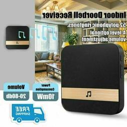 US Plug Wireless WiFi Doorbell Chime Ding-Dong Smart Door Be
