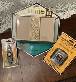 Trine Vintage Door Chime Bell New Nos Mechanical Box Kit Dec