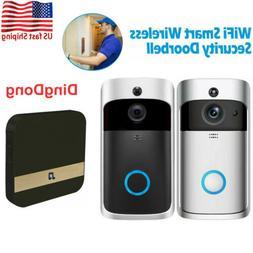 wifi smart door bell camera two way
