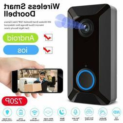 Wireless Wifi Smart Doorbell Loudly Chime HD Video Camera Ri