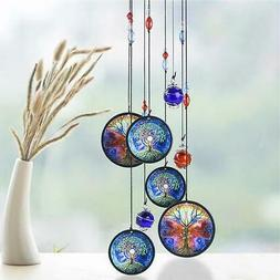 Wind Chimes Crystal Material Wind Bell Tree of Life Outdoor