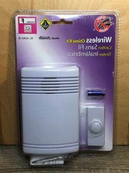 Heath Zenith Wireless Door Chime with White Cover SL-6140