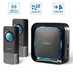 Home Wireless Door Doorbell Sensor Alarm Chime kit 1 Receive