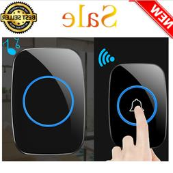 Wireless Doorbell Operating at over 900-Feet Range with 38 C