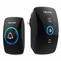 Wireless Doorbell, TeckNet Waterproof Wireless Door Bell Chi