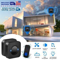 Wireless Doorbells Rings IP55 Waterproof 984ft Doorbell Chim
