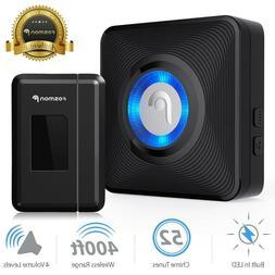Fosmon Wireless Entry Alert Doorbell - 52 Ringtones
