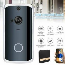 Wireless Smart Doorbell Ring IR WIfi Home Security HD Door C