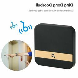 Wireless WiFi Doorbell Chime Ding-Dong Smart Visual Door Bel